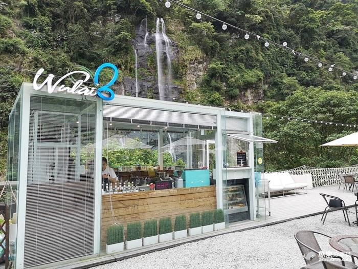 【新北烏來】瀑布三號- 透明玻璃屋景觀餐廳│離烏來瀑布最近的網美咖啡店 @魚樂分享誌