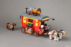 Horse drawn Gypsy Caravan (No. 1)