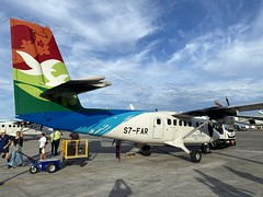 Air Seychelles Viking DHC-6-400 Twin Otter aircraft