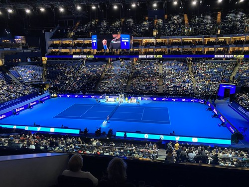 Ivan Dodig - Rajeev Ram and Joe Salisbury vs Ivan Dodig and Filip Polášek at the ATP Tennis World Tour Finals
