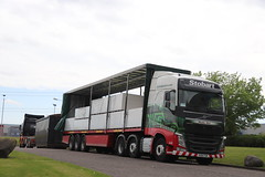 Photo of CUM KX16 FCM VOLVO FH4 H4483 EDDIE STOBART