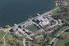 Willen Lake - Milton Keynes aerial image