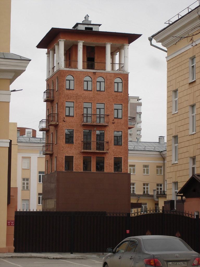 фото: Башня Института МЧС