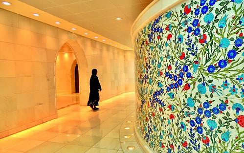 Lady's room, Sheikh Zayed Grand Mosque, Abu Dhabi
