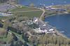 Milton Keynes Willen Lake Aqua Parcs aerial image