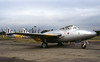 XD403. Ex Royal Air Force de Havilland Vampire T.11