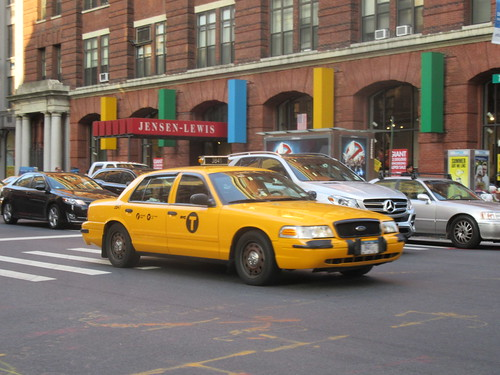 NYC Cop Taxi?, From FlickrPhotos