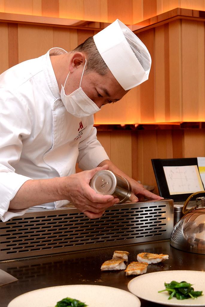 台北萬豪酒店 Mark's Teppanyaki 鐵板燒