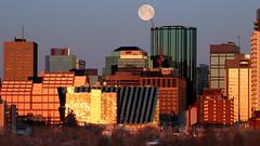 2020 04 08 Full Goose Moonset