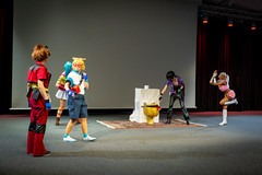 Japan Impact 2020 - cosplay groupe