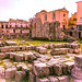 Ancient Rome site, Siracusa, Sicily, 意大利