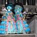 Germans celebrating the Carneval of Venice