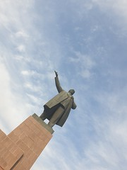 Lenin statue still standing in Osh.