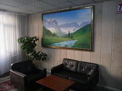 Our hotel in Osh, Kyrgystan.