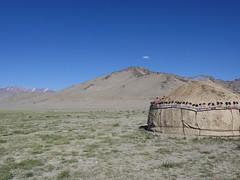 A Ger outside of Karakul.