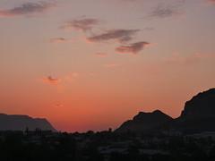 Sunset in Osh.