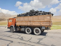 A truck with Coal.