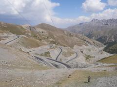 Roads into Kyrgystan