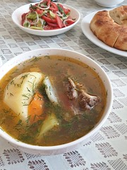 Traditional Pamir Soup.