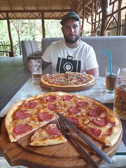 1500km later we made it to Osh, then a Pizza was in place.