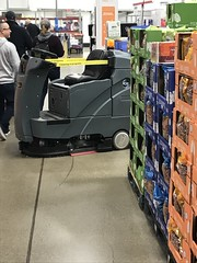 3/9/2020- Spotted this at Sams: cleaning robot. Weird
