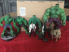 2/25/2020- Found these in storage; adding them to the Hulk shelves!