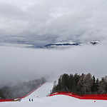 VAL GARDENA, ITALY - DECEMBER 18:  Bad weather cancels the race during the Audi FIS Alpine Ski World Cup Men's Downhill Training on December 18, 2019 in Val Gardena Italy. (Photo by Alexis Boichard/Agence Zoom)
