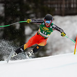 VAL GARDENA, ITALY - DECEMBER 20: James Crawford of Canada competes during the Audi FIS Alpine Ski World Cup Men's Super G on December 20, 2019 in Val Gardena Italy. (Photo by Alexis Boichard/Agence Zoom)
