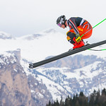 VAL GARDENA,ITALY,19.DEC.19 - ALPINE SKIING - FIS World Cup, downhill training, men. Image shows Brodie Seger (CAN). Photo: GEPA pictures/ Thomas Bachun