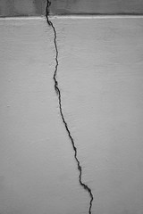 100/366: the crack - a line in sharp decline