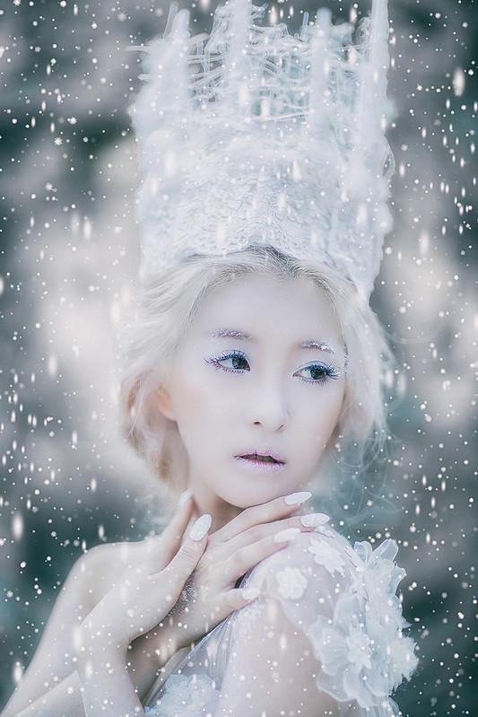 婚紗概念影像,冰雪奇緣