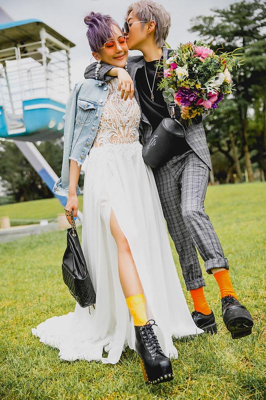 青春記憶點,婚紗概念影像