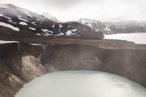 "Crater Víti (Hell) in the Askja Caldera • <a style=""font-size:0.8em;"" href=""http://www.flickr.com/photos/22350928@N02/49760309912/"" target=""_blank"">View on Flickr</a>"