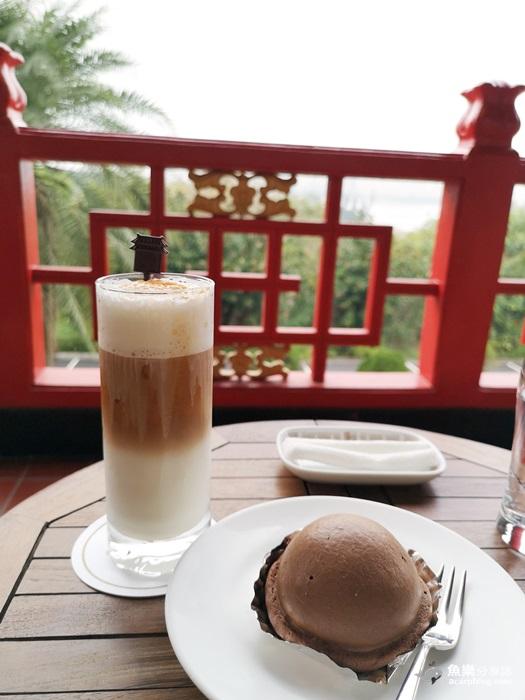 【高雄鳥松】秘境咖啡廳│藏身在圓山大飯店二樓的氣質下午茶 @魚樂分享誌