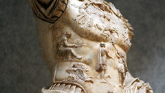 Augustus of Primaporta, detail with Hispania(?) in submission