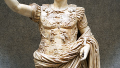 Augustus of Primaporta, detail with cuirass