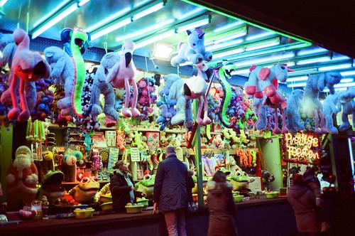 Neon Stuffed Animal