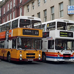 Stagecoach Busways Leyland Olympian 684 E911KYR - Newcastle - 2 August 1997