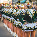 Girls in carnival uniform