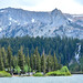 Mammoth Lakes - Crystal Crag, seen from Twin Lakes