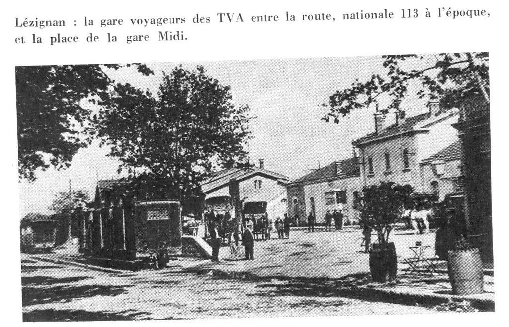 GARE DE LEZIGNAN