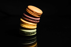 Leaning Tower of Macarons