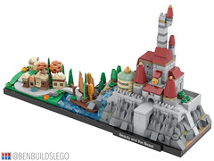 LEGO Beauty and the Beast Skyline [3]