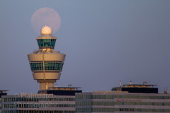 """Supermoon rising over Schiphol • <a style=""""font-size:0.8em;"""" href=""""http://www.flickr.com/photos/125767964@N08/49771095152/"""" target=""""_blank"""">View on Flickr</a>"""