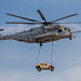 HMH-465 Sikorsky  CH-53E Super Stallion Helicopter Transporting a Humvee