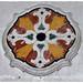 Lucera, Cattedrale, particolare di una decorazione marmorea