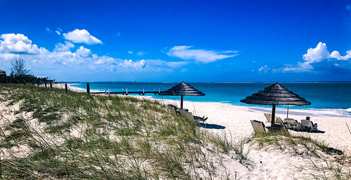 Grace Bay, Providenciales,  the Turks and Caicos Islands  グレース・べイ、プロビデンシアレス島、タークス・カイコス諸島