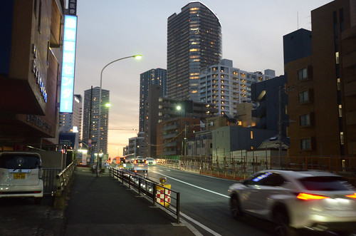 Tsunashima-kaido Bridge across JR Nanbu Line in 2018 December: 3