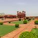 La cour  Fatehpur-Sikri - Uttar-Pradesh, Inde