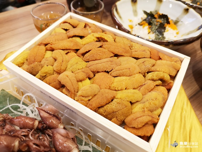 【台北中山】小六食堂|搬家初訪|和牛 海膽 生魚片丼飯DIY @魚樂分享誌